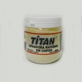 Levadura de Cerveza Natural en Copos Titán 200 grs.