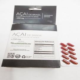 Suplemento Açaí x 1200 mg. Saint Gottard