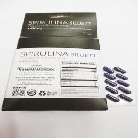 Suplemento SPIRULINA SILUETT + GARCINIA-Apto Celíacos Saint Gottard
