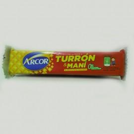 Turrón con maní Arcor