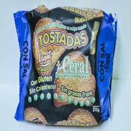 Tostadas con gluten Ceral con sal 210 g
