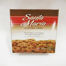 Galletittas chocolate Santa María sin gluten