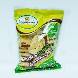 Galletitas diet de avena y chía sin azúcar La Zaranda