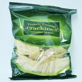 Crackines de arroz