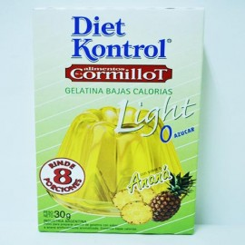 Gelatina Light Diet Kontrol ananá