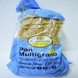 Pan multigrano con aceite de girasol La Zaranda