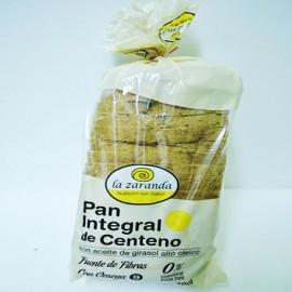 Pan integral de centeno con aceite de girasol La Zaranda